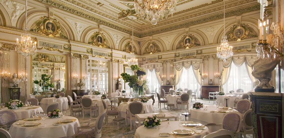 Louis XV : Alain Ducasse's 3 star restaurant in Monaco
